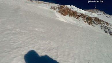 """Photo of Nanga Parbat, Txikon da C3: """"Da qui la vetta sembra vicina"""""""