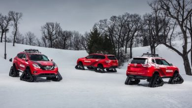 "Photo of Nissan presenta ""Winter Warriors"": le auto cingolate!"