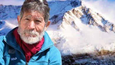 Photo of Carlos Soria arrivato al campo base dell'Annapurna