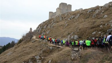 Photo of Gran Sasso, successo per la prima del Rocca Calascio Winter Trail
