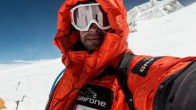 Photo of Ferran Latorre in vetta al Makalu