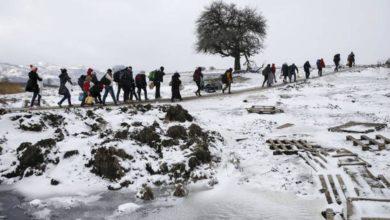Photo of Gruppo di migranti salvato in Alta Val Susa