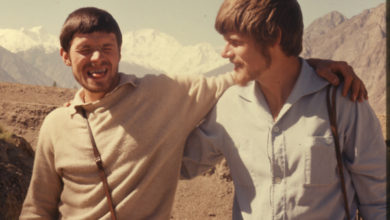 Photo of Reinhold e Günther Messner sul Nanga Parbat