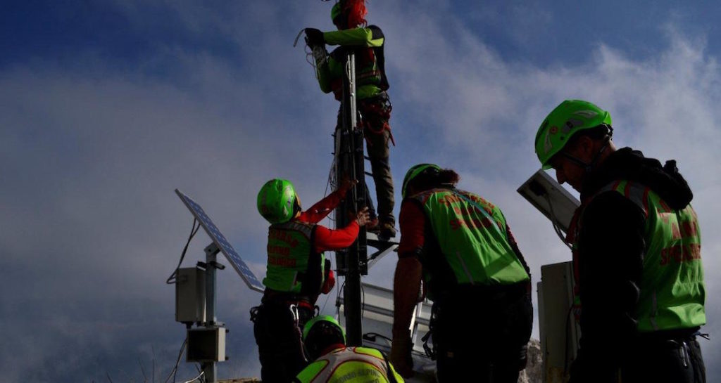 ponte radio soccorso alpino