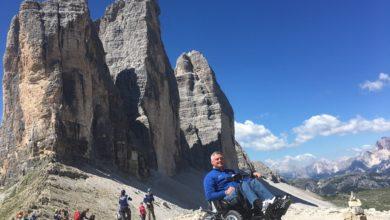 Photo of Dolomiti a misura di disabile su 4 ruote motrici