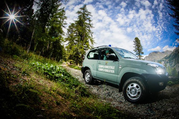 Aosta: il corpo forestale valdostano