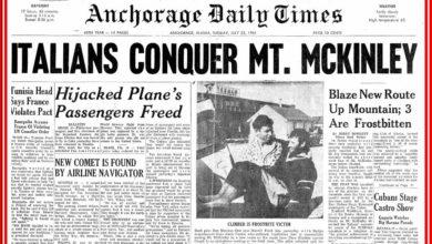 Photo of Luglio 1961 Cassin e i Ragni nella storia: aprono la sud del McKinley