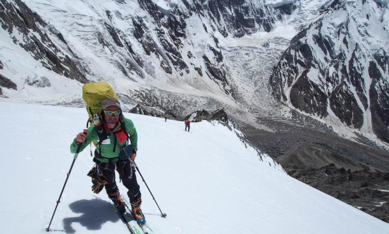 Photo of Ferran Latorre verso la vetta del Nanga Parbat