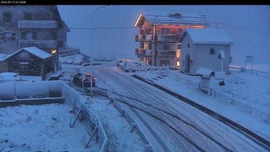 Photo of Sicuro che è il 13 luglio? Torna la neve sulle Alpi!