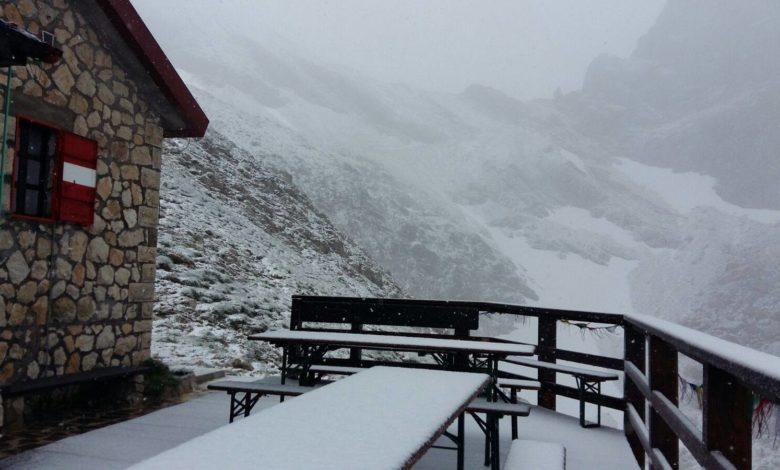 Photo of 15 luglio: sul Gran Sasso nevica!