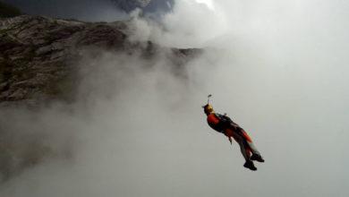 Photo of Base jumper Alexander Polli si schianta contro un albero