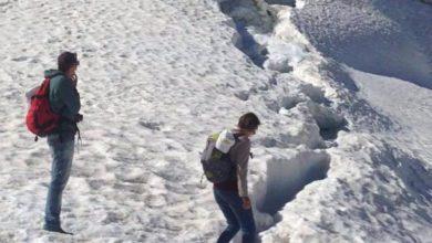Photo of E in estate si va a spasso sul ghiacciaio