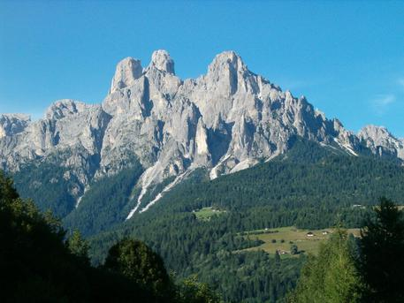 Montagna: Pale di San Martino, in Trentino. ANSA/UFF STAMPA PROVINCIA AUTONOMA DI TRENTO ++NO SALES, EDITORIAL USE ONLY++