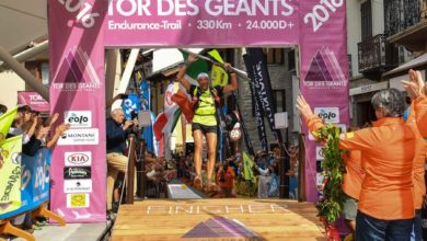 Photo of Oliviero Bosatelli stravince il Tor des Geants 2016