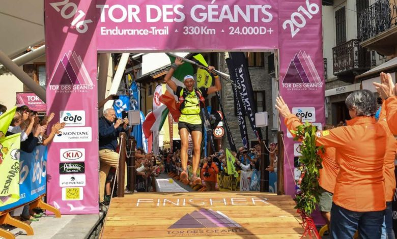 Photo of Oliviero Bosatelli stravince il Tor des Geants 2016