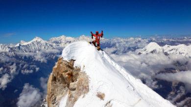 Photo of Danilo Callegari raggiunge la vetta del Manaslu senza ossigeno