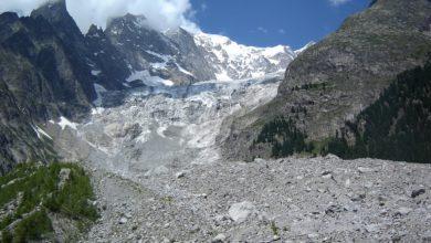 Photo of Ghiacciaio del Brenva, franati tra i 15 e i 35 mila metri cubi di materiale