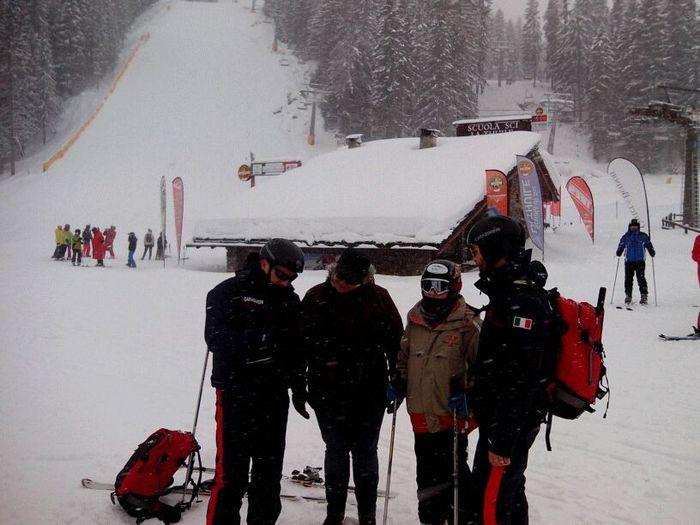 Aosta: controlli carabinieri piste da sci