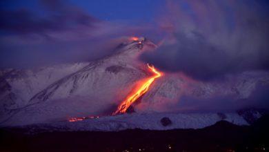 Photo of L'Etna torna a dar spettacolo
