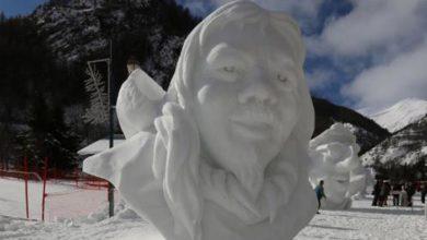 Photo of Da tutto il mondo al concorso sul più bel pupazzo di neve delle Alpi