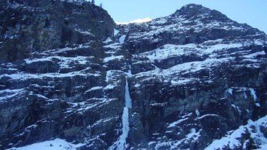 Photo of Sette ghiacciatori travolti da valanga su cascata Col Couloir