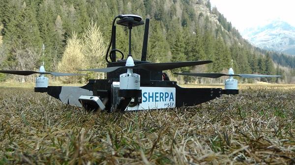 droni sherpa