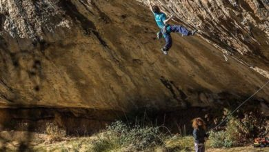 "Photo of Ghisolfi su ""First Round, First Minute"" (9b), come i grandi Sharma, Ondra e Megos"