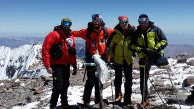 Photo of Gianfranco Corradini stupisce ancora: in vetta all'Aconcagua