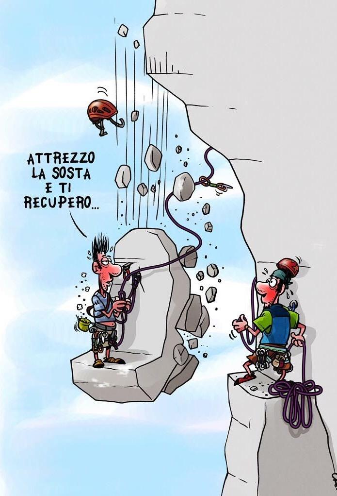 arrampicata vignetta