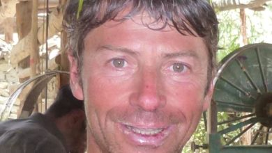 Photo of Mario Vielmo partito per lo Shisha Pangma