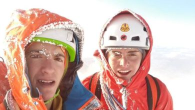 Photo of Titus Prinoth e Janluca Kostner, a 18 anni sulla parete nord dell'Eiger
