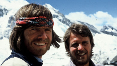 Photo of Messner e Habeler l'8 maggio '78 sull'Everest senza ossigeno