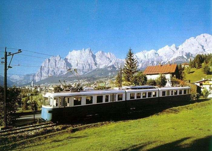 trenino delle Dolomiti