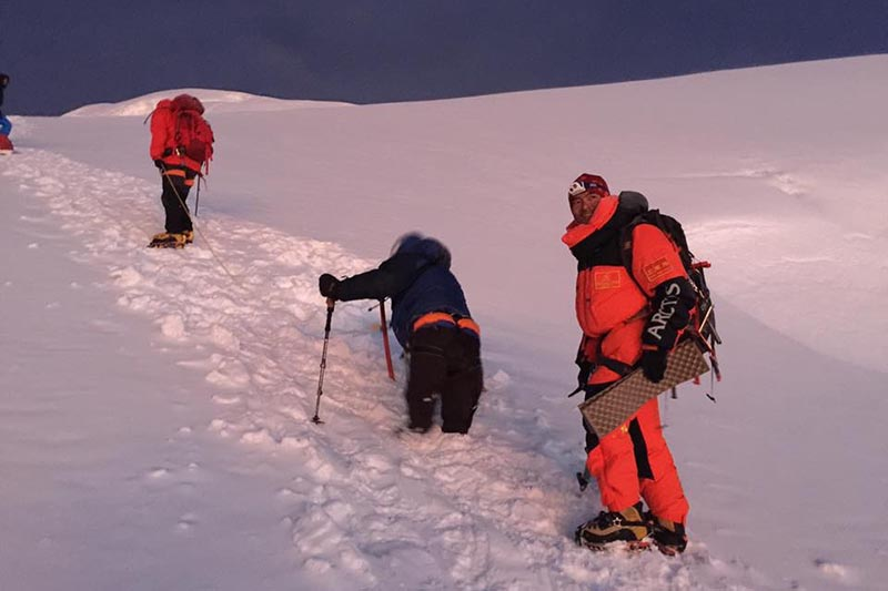 alpinismo disabile