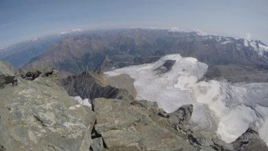 Photo of Gran Paradiso, ghiacciaio Trajo arretra di 69 mt e il Monciair di 63