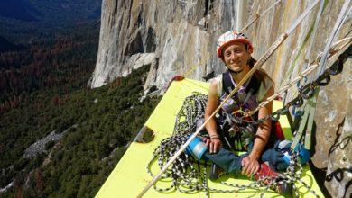 Photo of La paraclimber Eleonora Delnevo su Zodiac di El Capitan