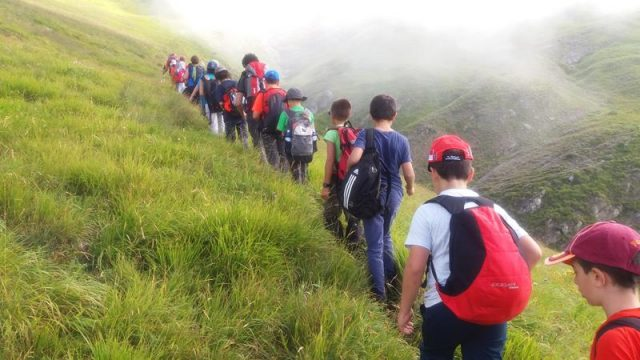 montagna trekking