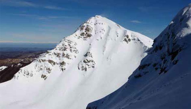 Photo of Monte Orsaro (Tosco-Emiliano), via alpinistica invernale Scivolo Est