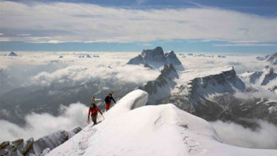 Photo of Tofana di Mezzo, sulla vetta delle Dolomiti ampezzane