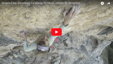 Photo of Angela Eiter su Planta de Shiva, primo 9b femminile al mondo in video