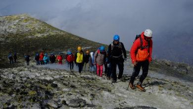 Photo of Etna divisa in due fasce tra Guide alpine e accompagnatori media montagna