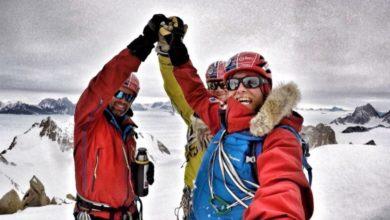 Photo of Antartide, il trio Houlding Burgin e Sedon in vetta allo Spectre
