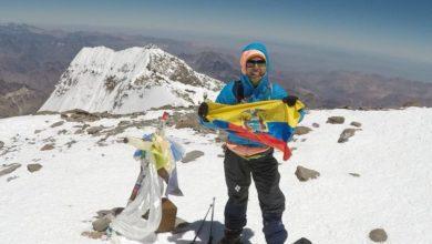 Photo of Dani Sandoval: record femminile di velocità all'Aconcagua