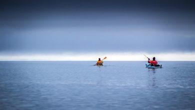 Photo of Al Cerro Riso Patron dopo 100 km di marcia (kayak e a piedi)