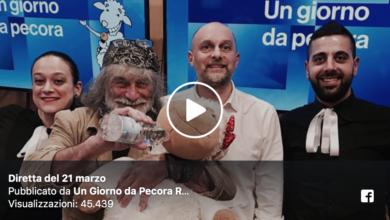 Photo of Imperdibile Mauro Corona a Un Giorno da Pecora su Radio 1