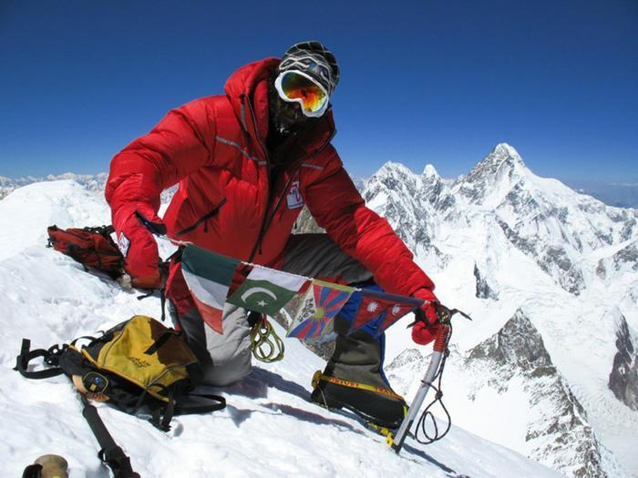 L'alpinista Simone La Terra, 36 anni, di Castiglione delle Stiviere (Mantova), è morto mentre in Nepal stava scalando il Dhaulagiri, una delle vette dell'Himalaya, 30 aprile 2018  ++ATTENZIONE LA FOTO NON PUO' ESSERE PUBBLICATA O RIPRODOTTA SENZA L'AUTORIZZAZIONE DELLA FONTE DI ORIGINE CUI SI RINVIA++www.simonelaterra.it