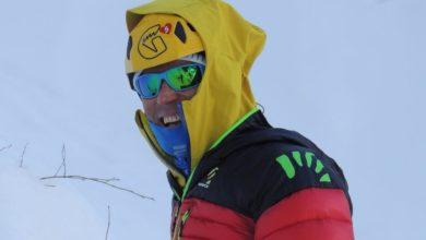 Photo of Marco Confortola arrivato al cb del Kanchenjunga