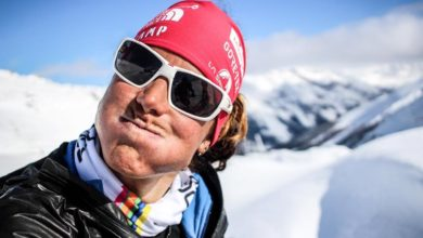 Photo of Tamara Lunger, una sognatrice innamorata della montagna