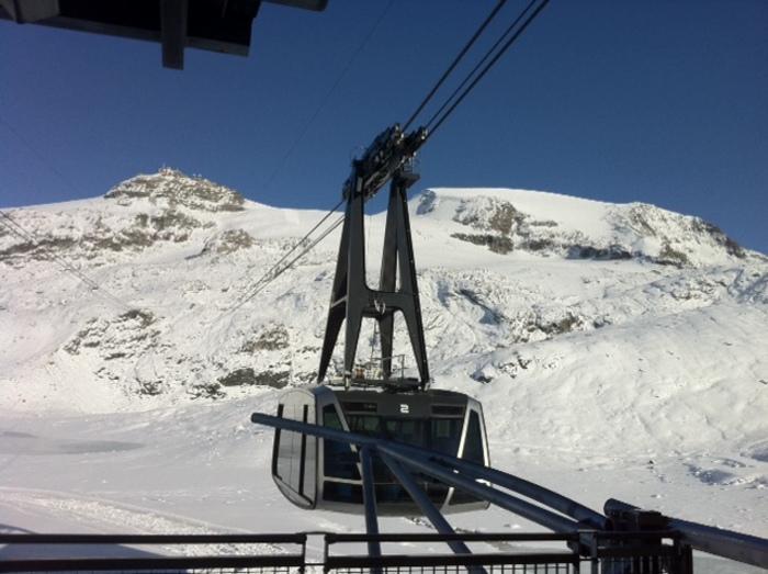 Aosta: funivia a Cervinia