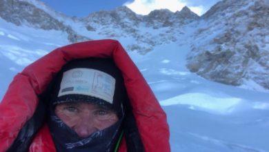 Photo of Marco Confortola partito per la vetta del Gasherbrum II